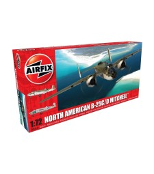1:72 Американски двумоторен тактически бомбардировач B-25B Мичъл (North American B25B Mitchell)