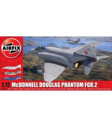 1:72 Американски двуместен, двумоторен реактивен изтребител – прехващач McDonnell Douglas FGR2 Phantom