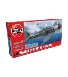 1:48 Британски изтребител Хоукър Сий Фюъри FB.II (Hawker Sea Fury FB.II 'Export)