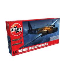 1:72 Британски двумоторен среден бомбардировач Викерс Уелингтън Mk IC (Vickers Wellington Mk.IC)