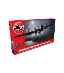 "1:72 Британски бомбардировач Авро Ланкастър Б.III (специално издание) ""Дъмбъстърите"" (Avro Lancaster B.III (Special) The Dambusters)"