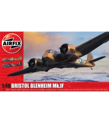 1:48 Британски бомбардировач Bristol Blenheim Mk.IF