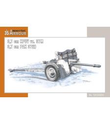 1:35 Оръдие Kanon 3,7 cm KPUV vz.37M / 3,7 cm Pak M 37 (t)