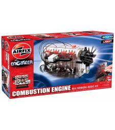 Двигател с вътрешно горене (Airfix Engineer Internal Combustion Engine) - модел, работещ с батерии