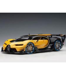 Bugatti Vision GT 2015 (giallo midas yellow/ black carbon) (composite model/2 door openings)