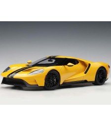 Ford GT 2017 (triple yellow/black stripes) (composite model/full openings)
