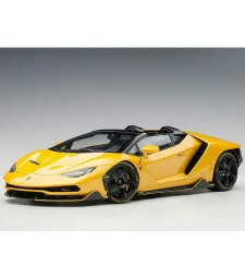 LAMBORGHINI CENTENARIO ROADSTER (GIALLO INTI/PEARL YELLOW) (composite model/full openings)
