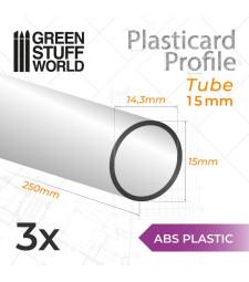 ABS пластмасов профил ТУБА 15 мм