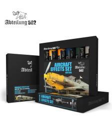 ABT305 AIRCRAFT EFFECTS SET - 6 x 20 ml - Abteilung 502 Oil paint