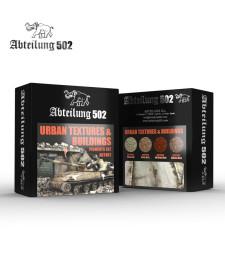 ABT401 URBAN TEXTURES & BUILDINGS - PIGMENTS SET (4 x 20 ml)