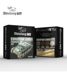 ABT408 EUROPEAN LANDS - PIGMENTS SET (4 x 20 ml)