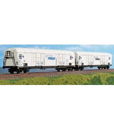 Комплект 2 броя хладилни вагони Interfrigo на Италианските национални железници (FS), IV