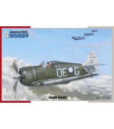 1:72 Британски самолет CAC CA-19 Boomerang 'Jungle Scouts'