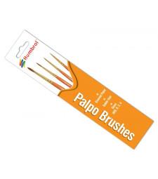 "Комплект четки ""Palpo"", размери 000, 0, 2 и 4"