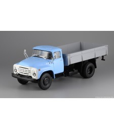 ZIL-130-76 Flatbed Truck - Blue-Grey