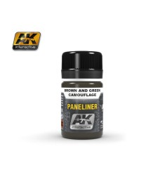 AK2071 PANELINER FOR BROWN AND GREEN CAMOUFLAGE (35 ml) - Ерозиращ продукт за авиация