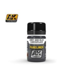 AK2072 PANELINER FOR GREY AND BLUE CAMOUFLAGE (35 ml) - Ерозиращ продукт за авиация