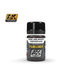 AK2073 PANELINER FOR SAND AND DESERT CAMOUFLAGE (35 ml) - Ерозиращ продукт за авиация