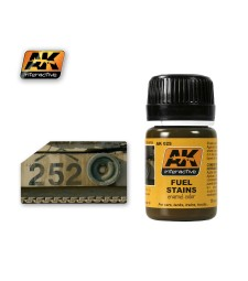 AK025 FUEL STAINS - Ерозиращ продукт (35 ml)