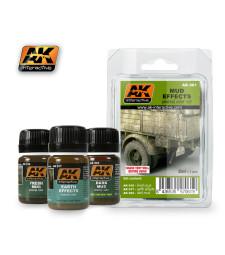 AK061 MUD - Ерозиращ комплект (3 x 35 ml)