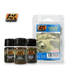 AK062 STREAKS - Ерозиращ комплект (3 x 35 ml)