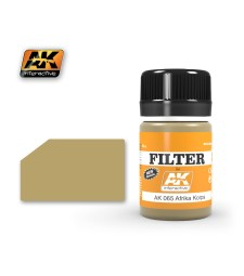 AK065 FILTER FOR AFRIKA KORPS VEHICLES - Ерозиращ продукт (35 ml)