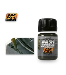 AK-070 WASH FOR PANZER GREY VEHICLES - Ерозиращ продукт (35 ml)