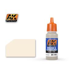 AK092 RAL9001 CREMEWEISS - Акрилна боя от синя серия (17 ml)