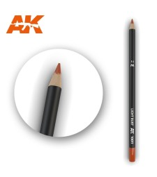 AK10011 Watercolor Pencil Light Rust - Воден молив за моделизъм (1 брой)