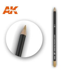 AK10016 Watercolor Pencil Light Chipping for wood - Воден молив за моделизъм (1 брой)