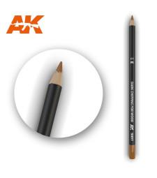AK10017 Watercolor Pencil Dark Chipping for wood - Воден молив за моделизъм (1 брой)