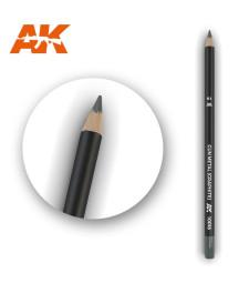 AK10018 Watercolor Pencil Gun Metal (Graphite) - Воден молив за моделизъм (1 брой)