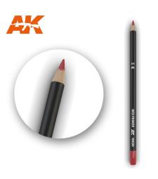 AK10020 Watercolor Pencil Red Primer - Воден молив за моделизъм (1 брой)