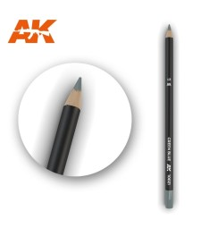 AK10021 Watercolor Pencil Green Blue - Воден молив за моделизъм (1 брой)