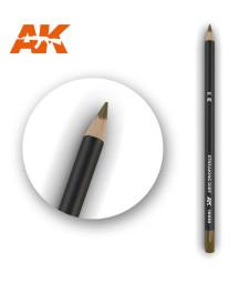 AK10030 Watercolor Pencil Streaking Dirt - Воден молив за моделизъм (1 брой)