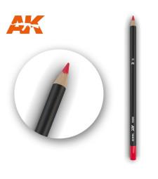 AK10031 Watercolor Pencil Red - Воден молив за моделизъм (1 брой)