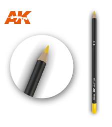 AK10032 Watercolor Pencil Yellow - Воден молив за моделизъм (1 брой)