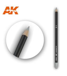 AK10033 Watercolor Pencil Aluminum - Воден молив за моделизъм (1 брой)