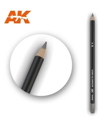 AK10035 Watercolor Pencil Dark Aluminum Nickel - Воден молив за моделизъм (1 брой)
