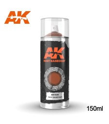 AK1020 Rust Basecoat Spray 150ml