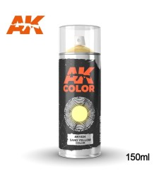 AK1024 Sand Yellow Spray 150ml
