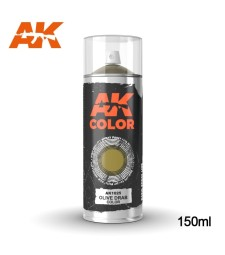 AK1025 Olive Drab color Spray  150ml