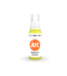 AK11049 Fluorescent Yellow (17 ml) - Акрилни бои от ново поколение