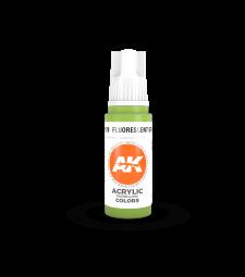 AK11129 Fluorescent Green (17 ml) - Акрилни бои от ново поколение