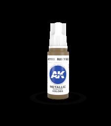 AK11193 Rusty Gold (17 ml) - Акрилни бои от ново поколение