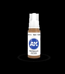 AK11195 Rusty Brass (17 ml) - Акрилни бои от ново поколение