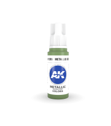 AK11205 Metallic Green (17 ml) - Акрилни бои от ново поколение