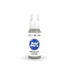 AK11211 Oily Steel (17 ml) - Акрилни бои от ново поколение