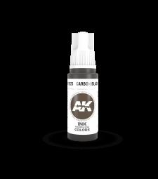 AK11223 Carbon Black INK (17 ml) - Акрилни бои от ново поколение