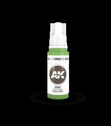 AK11225 Luminous Green INK  (17 ml) - Акрилни бои от ново поколение